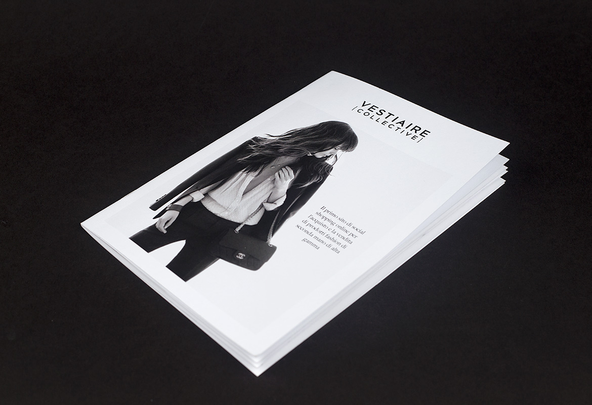Vestiaire collective printed catalogue