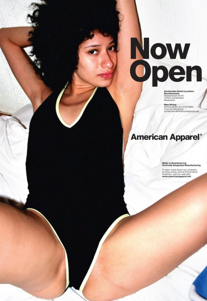 controversial advertising now open american apparel