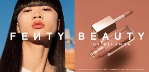 Fenty Beauty Campaign with Rhianna Across Digital and Print Media supported by Loveurope - digital print media