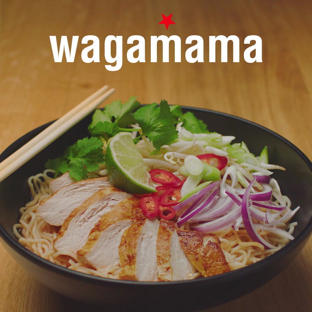 wagamama social media video screen grab