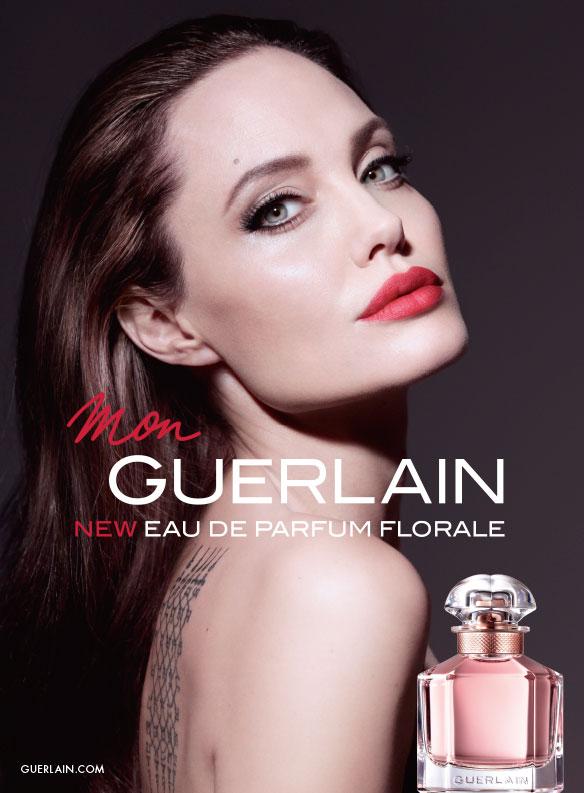 Mon Guerlain Angelina Jolie Fragrance ad