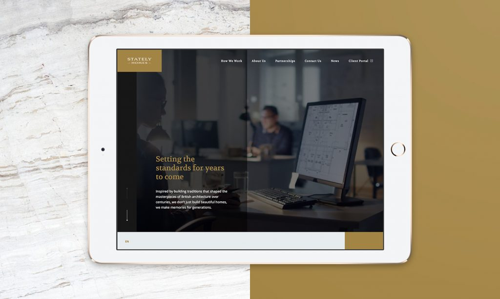 StatelyHomes multi-language website