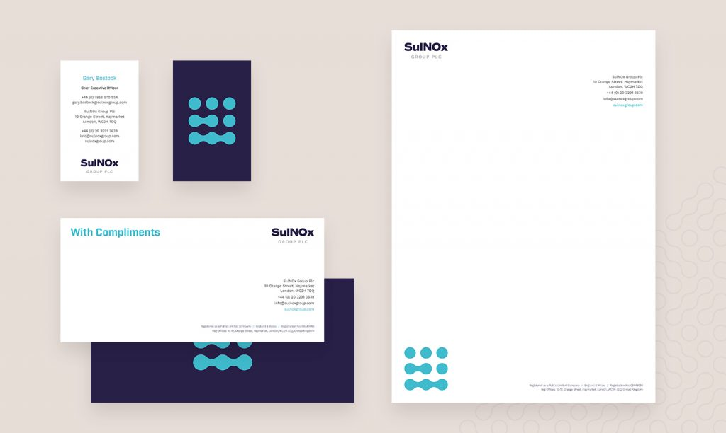 SulNOx brand transformation communications collateral