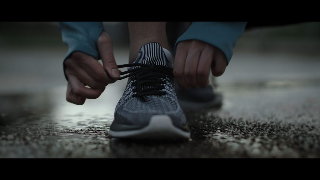 Duracell Disruptive sports commercial running shoe
