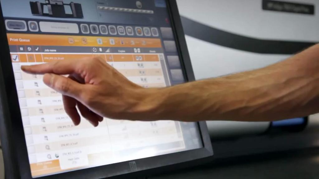 digital print interface