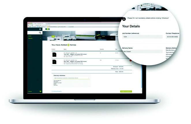 LEAP Managed Print services- interface image 2