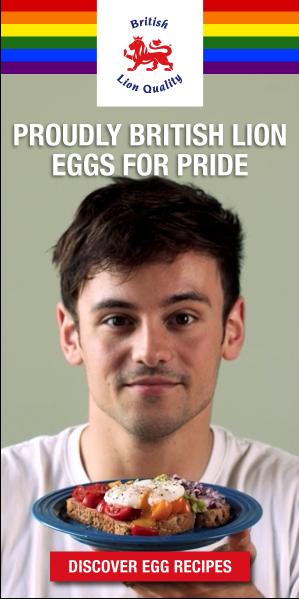Digital Marketing Content Tom Daley British Lion Eggs Pride