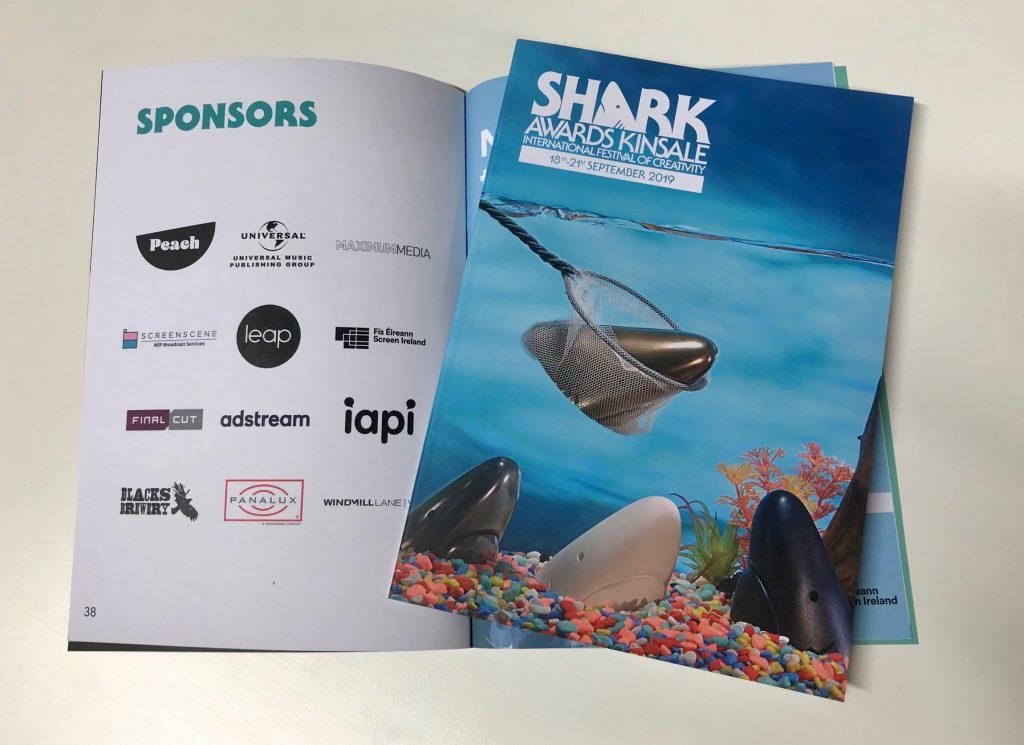 Kinsale Sharks Printed Programme LEAP sponsor