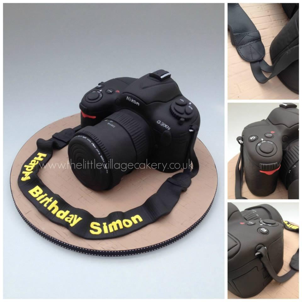 camera cake by Tony Chamberlain