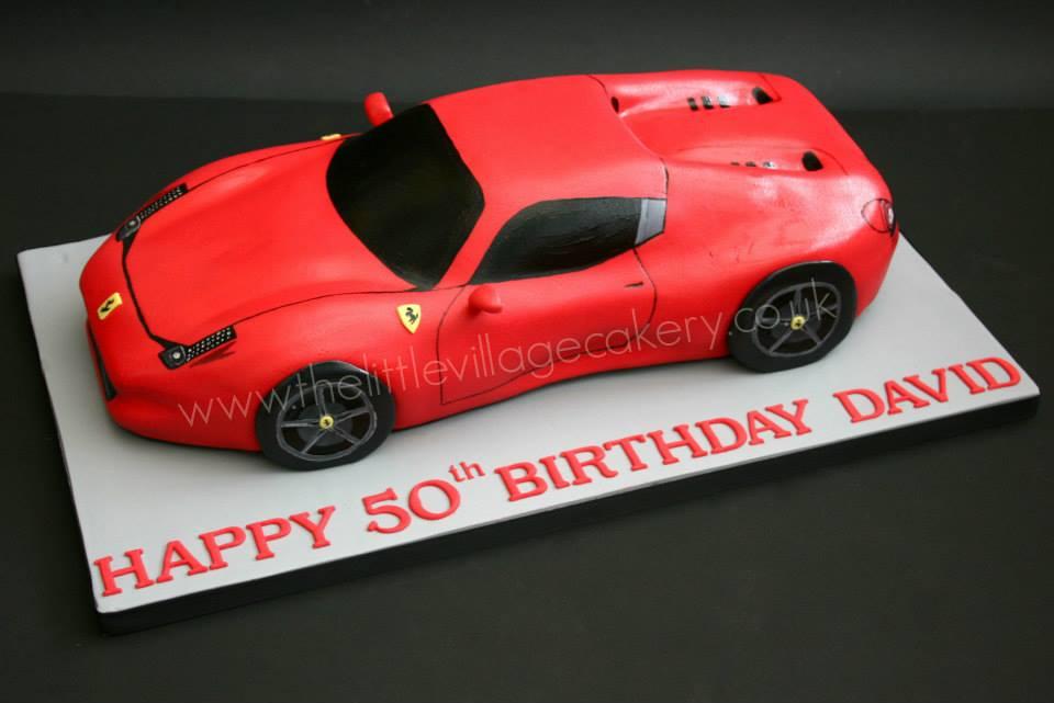 Ferrari cake by Tony Chamberlain