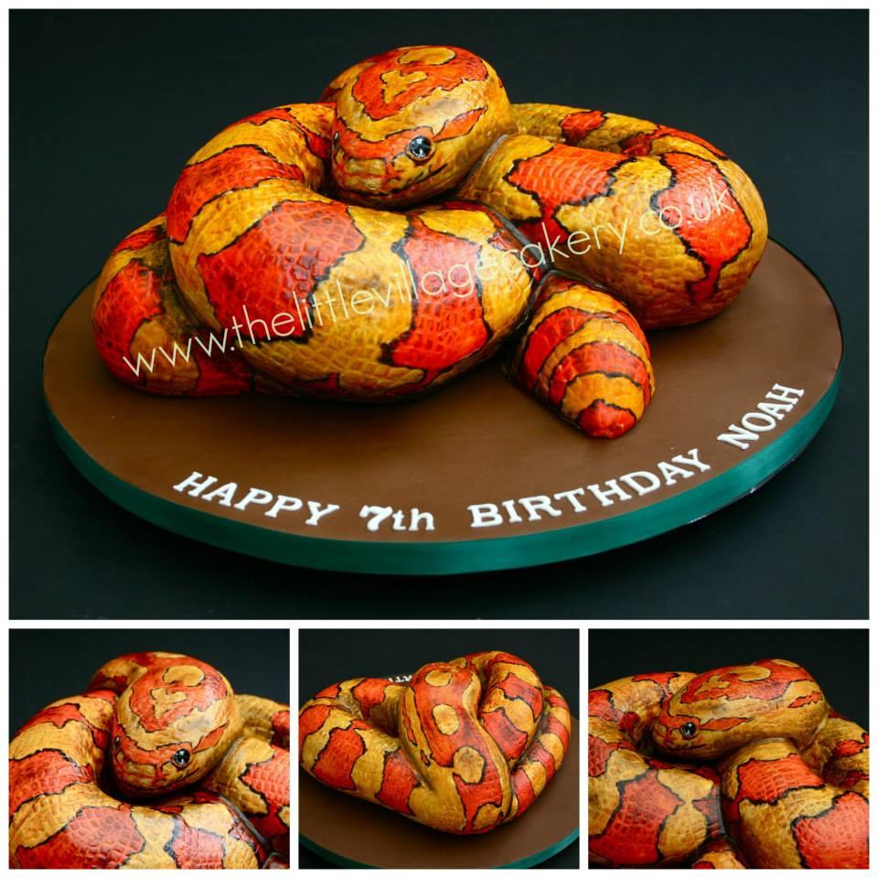 Snake cake by Tony Chamberlain