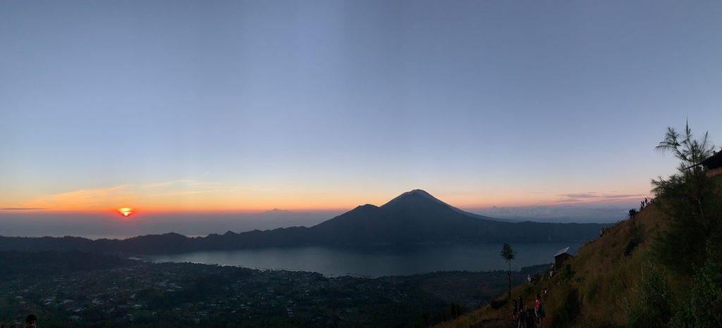 Lauren Potts Bali sunrise photo