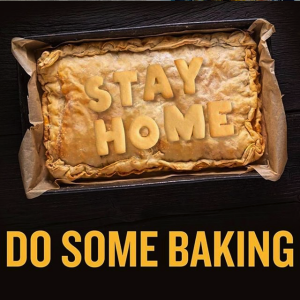 stay home do some baking