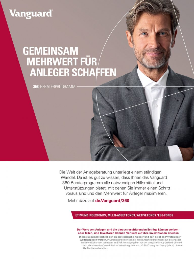 Vanguard Germany localised Press Ad