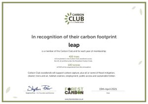 Carbon Club by Forest Carbon Certificate