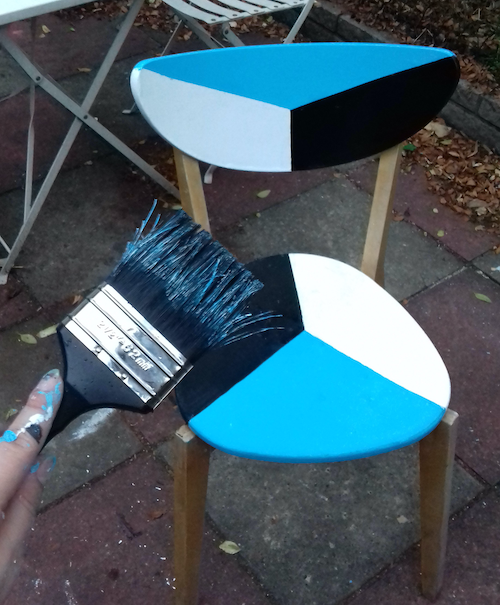 Virginia Alvarez DIY Chairs refurb
