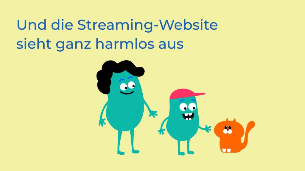 Internet Matters animation in German